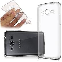 Samsung Galaxy Core Prime Funda HCN Phone® Carcasa silicona Gel Flexible Ultra fina para Samsung Galaxy Core Prime, compatible con Samsung Galaxy Core Prime