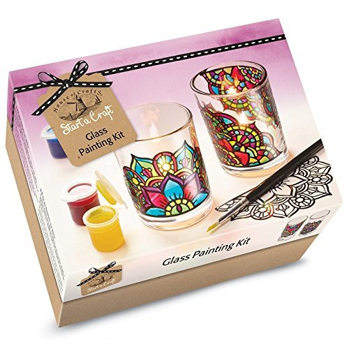 House of Crafts Glass Making Starter Craft Kit Candle Votives