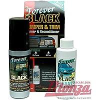 Forever Black Car / Motorbike Plastic & Bumper & Trim Black Dye Kit