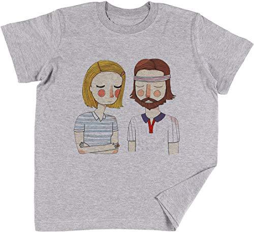 Heimlich Im Liebe Kinder Jungen Mädchen Unisex T-Shirt Grau