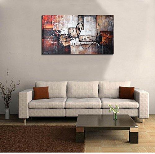 Raybre art® moderni quadri astratti grandi pitture a olio, pareti ...