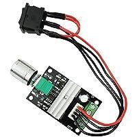 UEETEK 1203BB 6V 12V 24V 3A 80W Controlador de la velocidad del motor de la CC (PWM) Interruptor reversible ajustable del conductor del motor