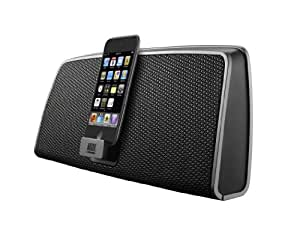Altec Lansing inMotion Classic III Portable Dock for iPods/iPhones with 30 pin dock connector - Black/Silver