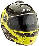 X-Lite X-1004 Ultra Carisma Carbon LED Yellow Chin Guard M