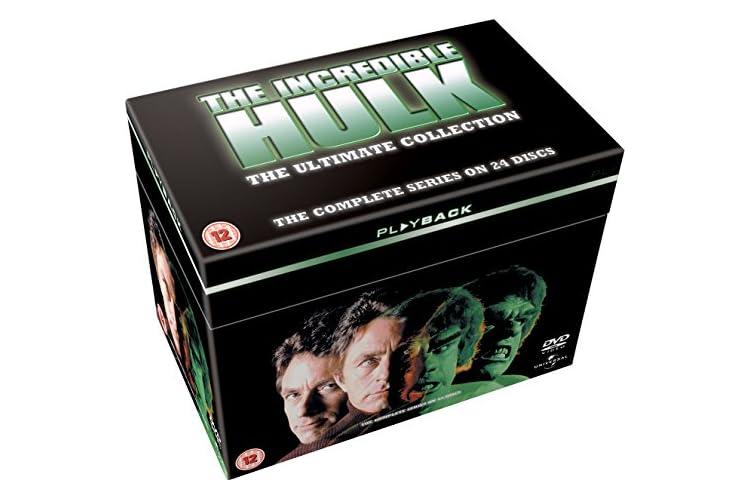 The Incredible Hulk: The Complete Seasons 1-5 [DVD] [1977]
