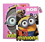 Oytra BOB The Minion Secret Lock Diary with Case, Cute Minion / Despicable me - High Quality Diary protected with lock and key, Best Birthday Gift for your Child / Girls / Boys / Adults - Gift Wrap is Available
