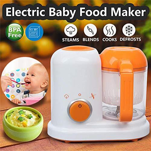 Professionelle Babynahrung Mixer Prozessor Steam Food Safe 2 in 1 elektrische Dampfer Kleinkind Lebensmittelhersteller 300W BPA frei -