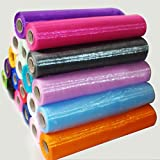 TtS 29cm X26M Organza Roll Sash Fabric Chair Cover Bows Table Runner Chair Sashes Swags for Wedding Party