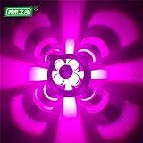 YU-K Einfache Vintage Schlafzimmer Wand Lampe kreative Wohnzimmer Esszimmer leuchten Gang lichter Wein Schrankwand Beleuchtung schießen Wandleuchte Gang Wandleuchte Weinbar Wandleuchte KTV Wandleuchte Wandleuchte Wand Bar Wandleuchte Farbe ändern Wandleuchte, hoch 6 CM φ 10 CM, Violett