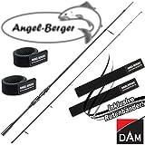DAM Effzett Evidence Spin Spinnrute alle Modelle mit Angel Berger Rutenband (2,70m / 25-60g)