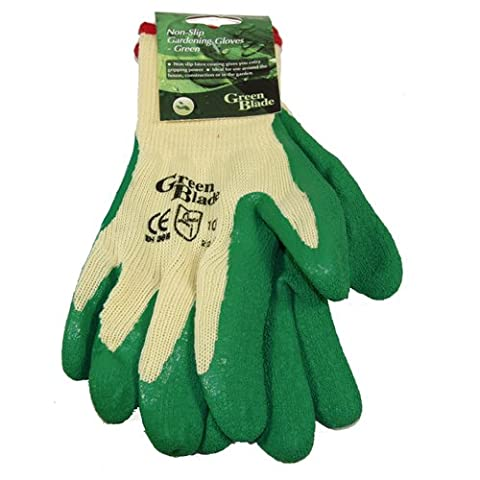 Green Blade BB-RG106 Non-Slip Gloves - Green