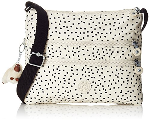 Kipling - Alvar, Bolsos bandolera Mujer, Mehrfarbig (Soft Dot), One Size