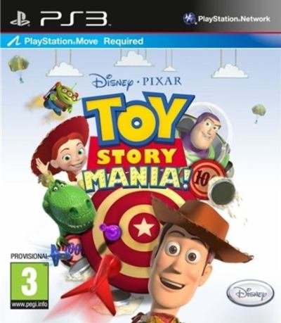 Toy Story Mania (Playstation 3) [UK IMPORT] (Toy Story Mania Spiel)