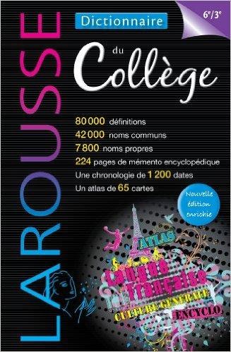 Dictionnaire du collège de Collectif ( 5 juin 2013 )