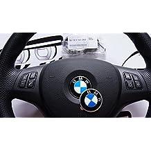 36131181082 - Pegatina de emblema de BMW para volante, 45 mm