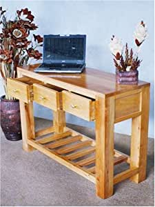 Aero 3 Drawer Console Table