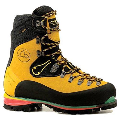 La Sportiva Nepal Evo Gtx - Zapatillas de escalada unisex, color amarillo, talla 42.5