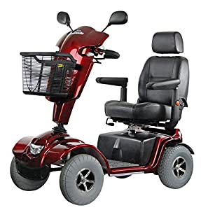 Roma Medical (Shoprider) Granada Class 3 Mobility Scooter - Red