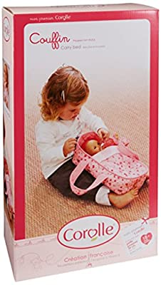 Corolle X0509 - Capacho para muñeca de 30 cm, color rosa por COROLLE