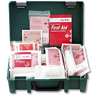 HSE Compliant - Travel & Workplace First Aid Kit for 1 - 10 Persons 1