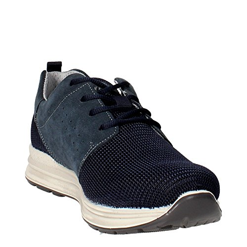 Imac 51151 Sneakers Homme Suède/tissu Bleu
