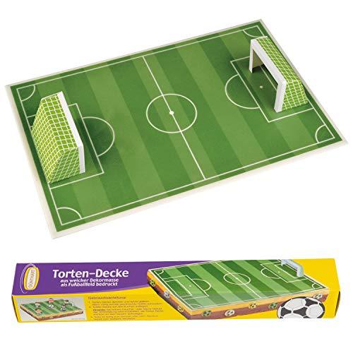 Günthart - Torten-Decke Motiv Fußball - 120g