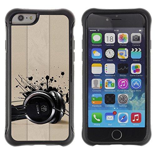 Graphic4You Camera Lens Photography Design Shockproof Anti-Rutsch Weichen Hülle Case Tasche Schutzhülle für Apple iPhone 6 / 6S Design #9