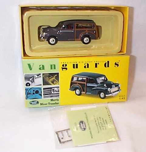 corgi-vanguards-morris-minor-rose-taupe-traveller-car-143-scale-limited-edition-diecast-model