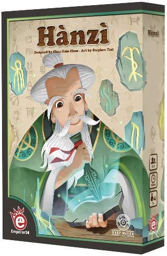 Asmodee EMPHZI01 Hanzi, Multicolor alfonbrilla para ratón
