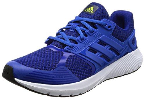 adidas Herren Duramo 8 Laufschuhe Blau (Mystery Ink/blue/solar Yellow)