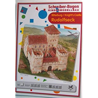 Aue-Verlag 14 x 14 x 13 cm Rudolfseck Knight's Castle Model Kit