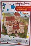 Aue Verlag 14x 14x 13cm Rudolfseck Knight 's Castle Model Kit