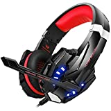 BenGoo Gaming Headset for PS4 Professional 3.5mm PC LED Light Game Bass Headphones - Best Reviews Guide