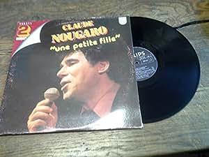 Claude Nougaro une petite fille 2 disques vinyles 33 tours Philips 6680253- -