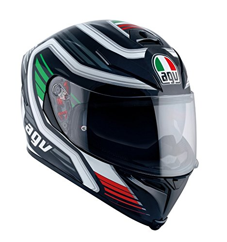 AGV Casco Moto K-5S E2205Multi plk, firerace Black/Italia, L