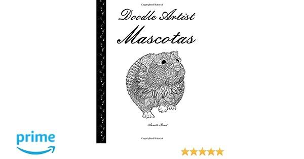 Doodle Artist - Mascotas: Un libro para colorear adultos: Amazon.co ...
