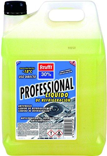 Krafft - Anticongelante cc-30 profesional 5l amarillo
