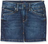 Pepe Jeans Mädchen Rock Monia, Blau (Denim Ck0), 14 Jahre