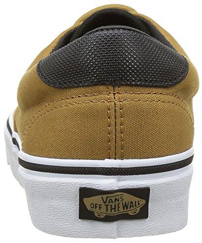 Vans Unisex-Erwachsene Era 59 Sneakers Braun ((Canvas/Military) Bistre/White)