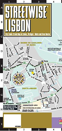 Streetwise Lisbon Map (Michelin Streetwise Maps) par Michelin Travel Publications