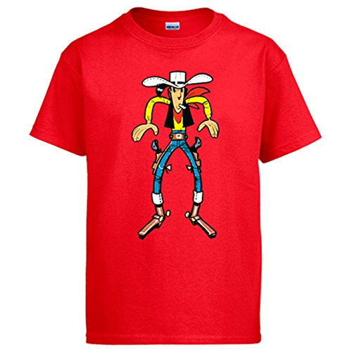 camiseta-lucky-luke-vaquero-homonimo-rojo-7-8-anos