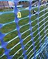 Callieway® Agility Parcoursabgrenzung, Hundezaun, Sicherheitszaun, Bauzaun, Campingzaun, Abgrenzungszaun 1m hoch, blau, extra reißfest - in verschiedenen Längen, Orig von Yorrxshire Enterprises auf Du und dein Garten