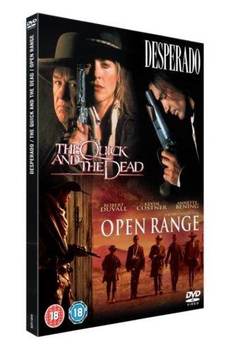 The Quick And The Dead/Open Range/Desperado [DVD] by Robert Duvall (Dvd-open Range)