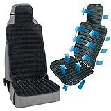 TRUCK DUCK Belüftete Sitzauflage für LKW Bus Transporter Wohnmobil Sitz Belüftung Sitzbezug Sitzmatte