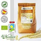 Quinoa Real en grano BeNatur Plus - 100% Quinoa Real procedente de Bolivia de Pureza Garantizada Libre de Pesticidas y de cualquier tipo de productos Químicos 1 kg