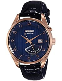 Seiko Dress Analog Blue Dial Men's Watch - SRN062P1