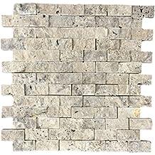 azulejos de mosaico de piedra de piedra de piedra natural piedra de pared
