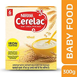 Nestlé CERELAC Infant Cereal Stage-3 (10 Months-24 Months) Wheat-Rice Mango With Dates 300g