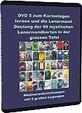 DVD 5 zum Kartenlegen lernen und die Lenormand Deutung der 40 mystischen Lenormandkarten in der grossen Tafel: Webinaraufzeichnungen mit 5 großen...