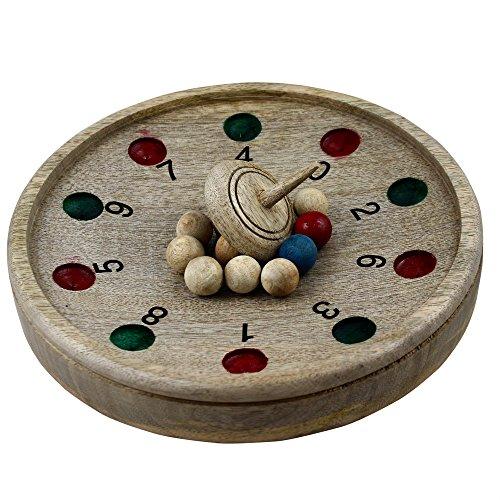 Roulette-hölzerne Reise Brettspiele